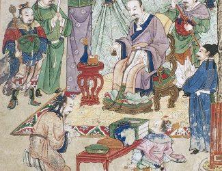 Über die Entstehung der Chinesischen Medizin