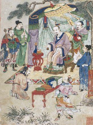 Beitrag: Über die Entstehung der Chinesischen Medizin